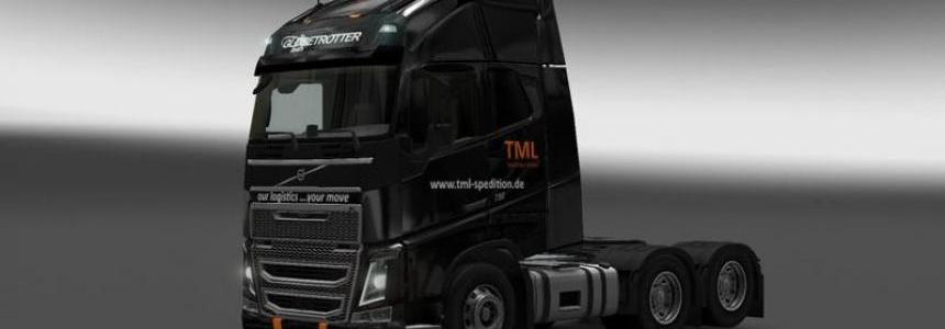 TML Paintshop for VOLVO F16 v1