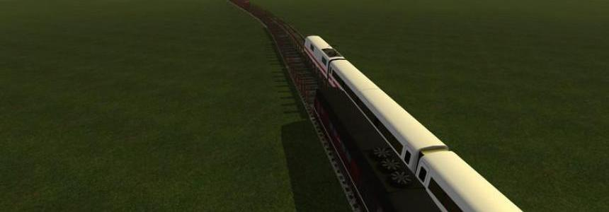 Train tracks with splines v1.0