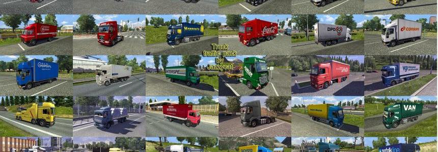 Truck Traffic Pack by Jazzycat v1.6