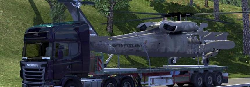 UH60 Helicopter Trailer 1.14.x