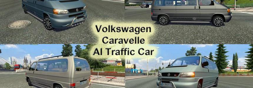 Volkswagen Caravelle AI Traffic Car