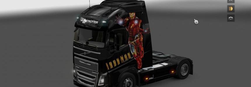 Volvo FH 2012 Iron Man Skin