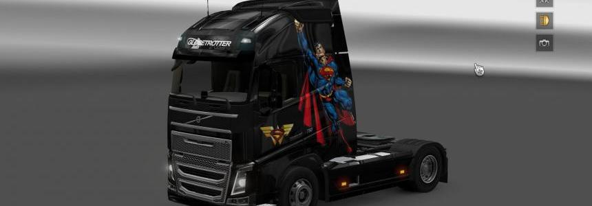 Volvo FH 2012 Superman Skin