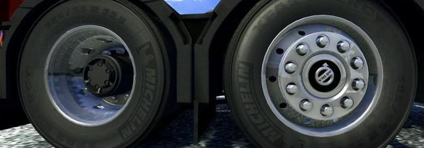 Volvo FH16 2012 Wheels v1.0