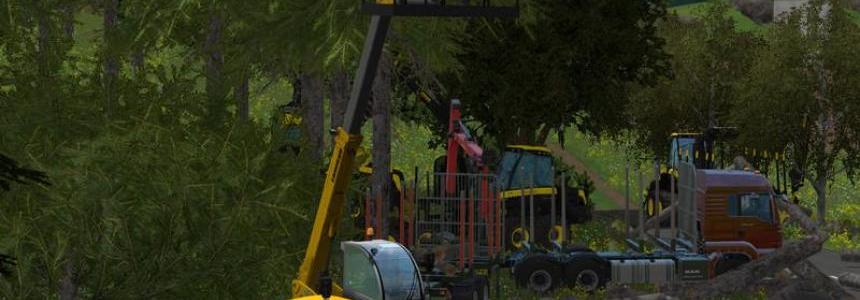 Work basket for Telescopic Forklift v1.0