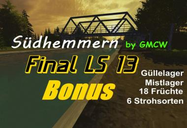Sudhemmern on the Mittelland Canal v Final Bonus