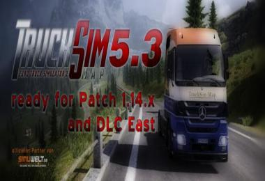 TruckSim Map v5.3