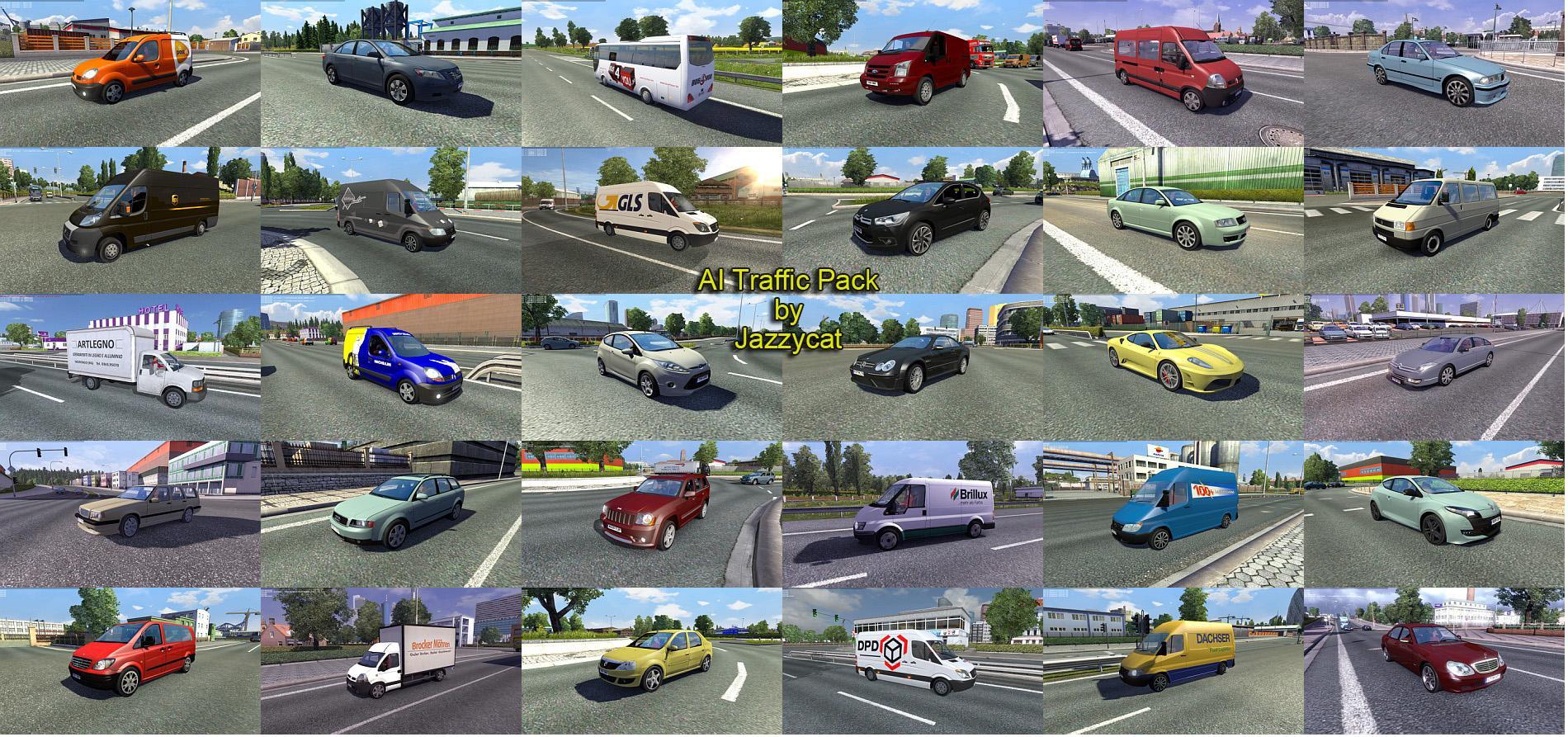 AI Traffic Pack by Jazzycat v2 0 - Modhub us