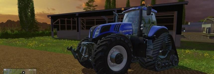 200+ KMH T8435 Tractor v1.1