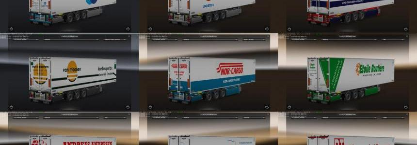 Chereau Technogam Trailer Skinpack vol.1