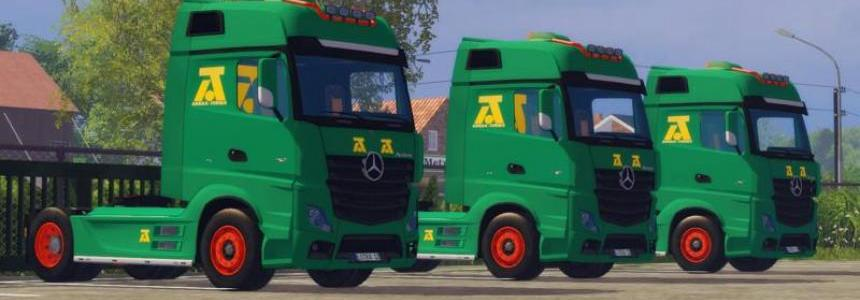 Mercedes MP4 AguasTenias v2.0
