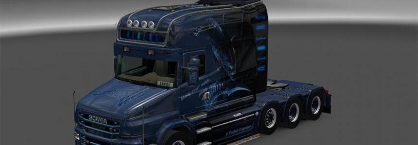 ALIENS Skin Scania T-cab Longline