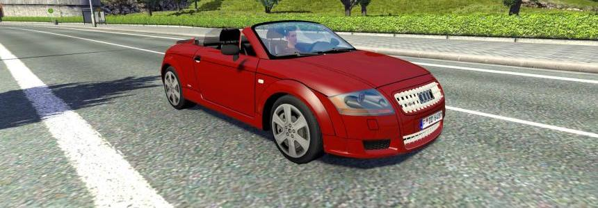 Audi TT Cabrio AI Traffic Car