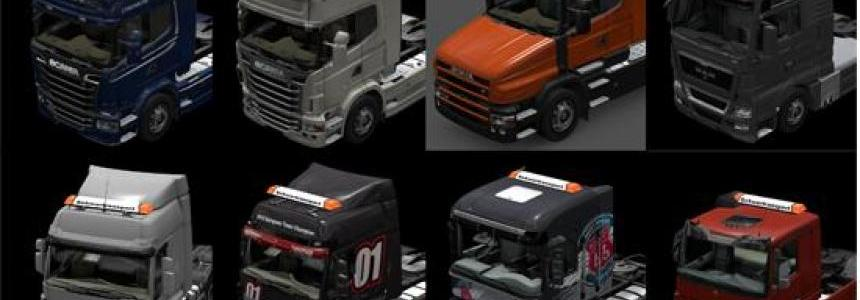 Beacons Pack for all Trucks