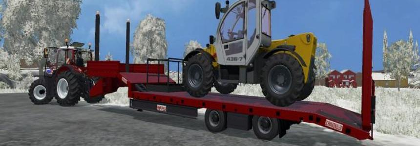 Black Muller low loader v1.0