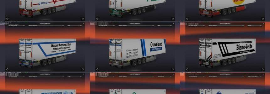 Chereau Technogam Trailer Skinpack vol.2