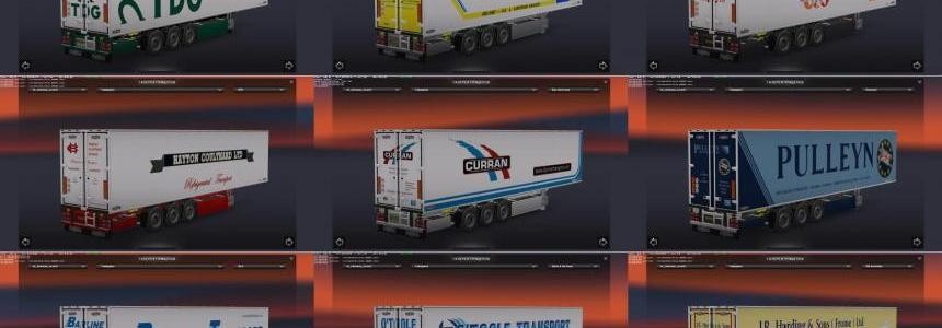 Chereau Technogam Trailer Skinpack vol.3