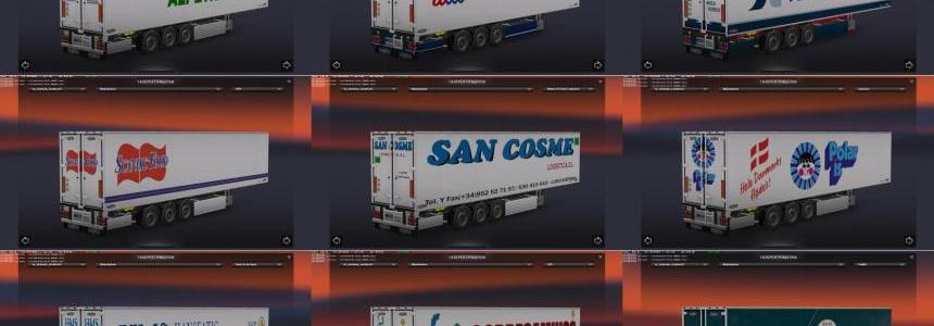 Chereau Technogam Trailer Skinpack vol.5