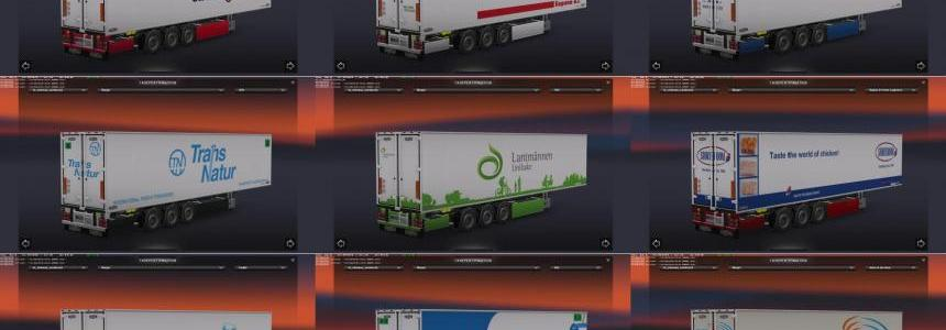 Chereau Technogam Trailer Skinpack vol.6
