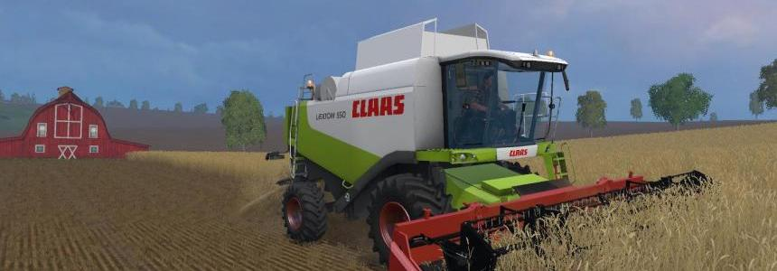 Claas Lexion 550 and 560TT v1