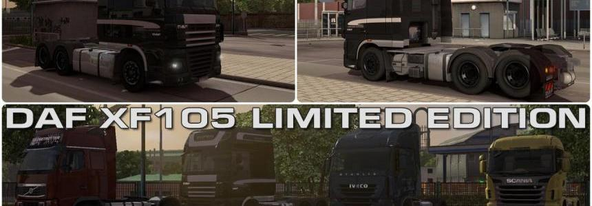 DAF XF 105 Limited Edition all (tested on 1.15.x)