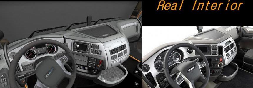 DAF XF E 6 Naom real interior 1.14.xx