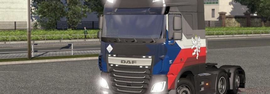 DAF XF E6 by ohaha v1.24