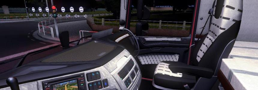 DAF XF Euro 6 Interior & Dashboard v1.2