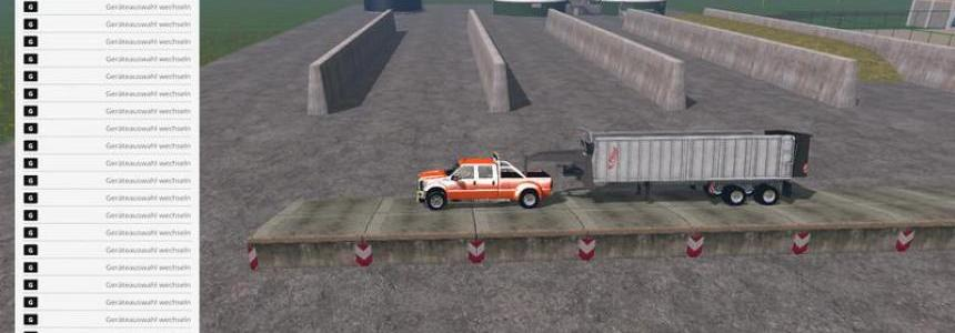 Ford F450 and Fligel with Gooseneck v1.0