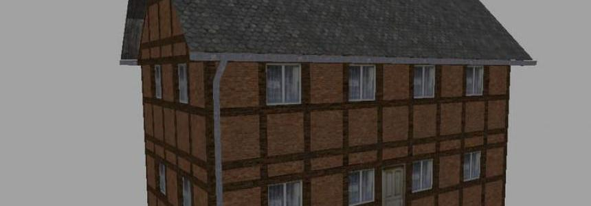 Half-timbered house set v1.0