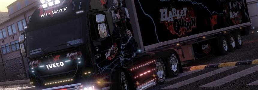Iveco Hi-Way Trailer Harley Quinn