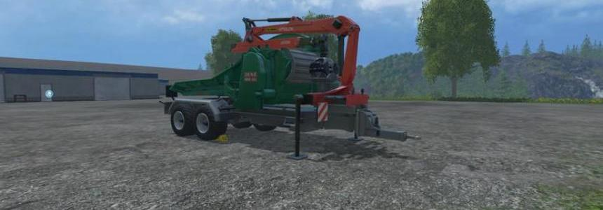 Jenz wood chipper v3.0