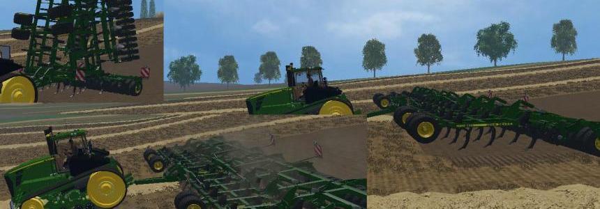 John Deere 420 Cultivator Extended 15m v2.0