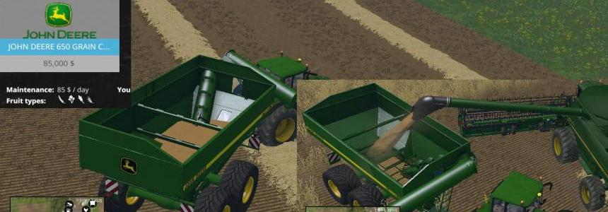 John Deere 650 Grain Cart V2.1