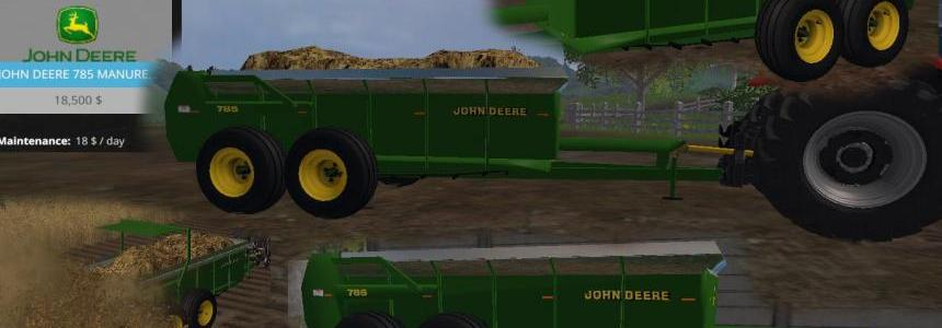 John Deere 785 Manure Spreader