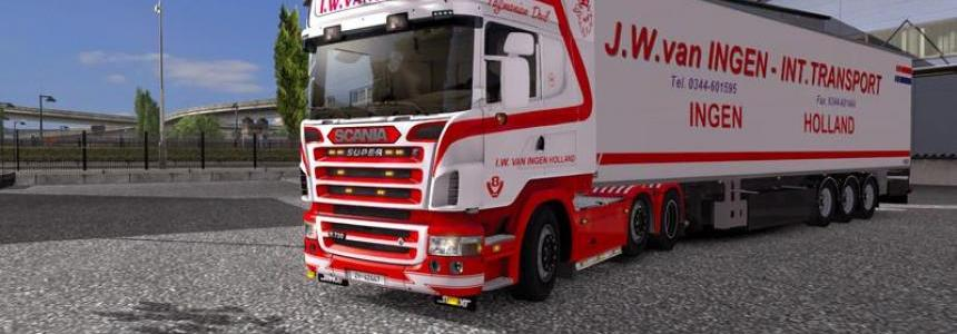 JW van INGEN Truck and Trailer edit v1.0