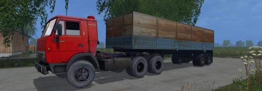 KAMAZ 5410 & ODAZ 9370 TRAILER