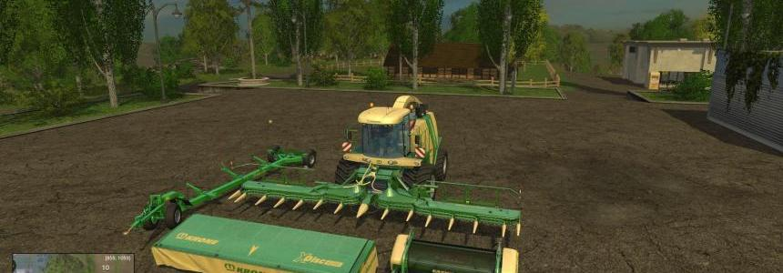 Krone BigX 1100 Full Pack, Original Colours v1.0
