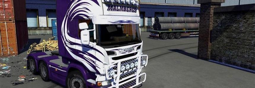 Malmbergs Skin for ScaniaR & Streamline