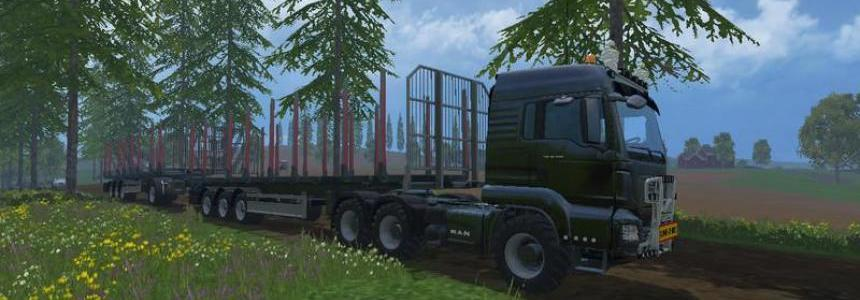 MAN Double Log Train v1.2