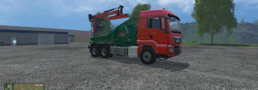 MAN TGS Jenz Chippertruck v1.0