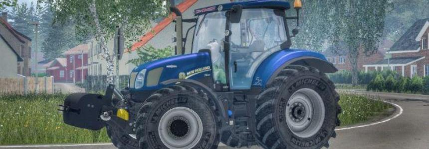 New Holland T6.160 GOLDEN JUBILEE v1
