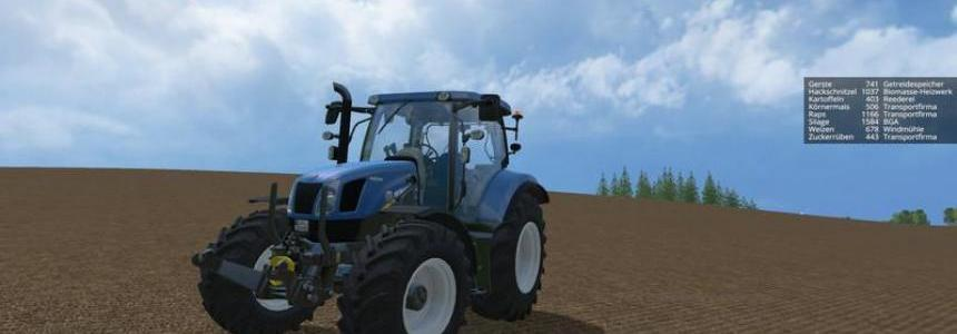 New Holland T6.175 v1.0