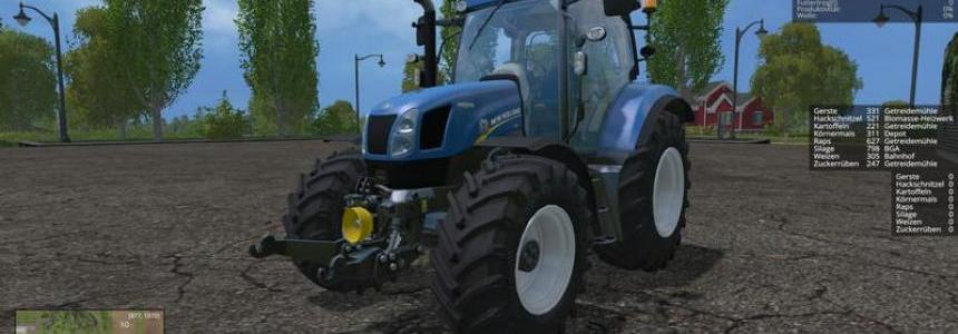 New Holland T6175 v1.0