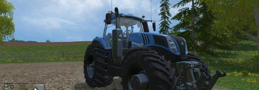 New Holland T8320 620EvoX NH Blue v1.1