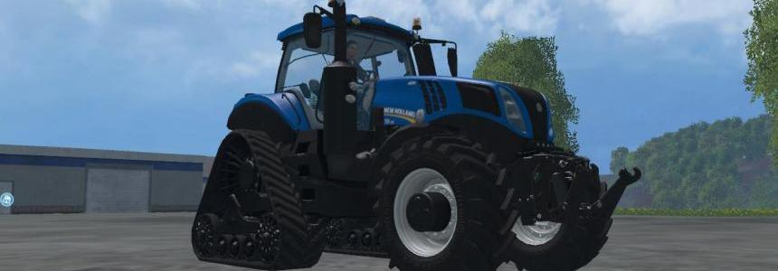 New Holland T8435 Potente Especial v1.1