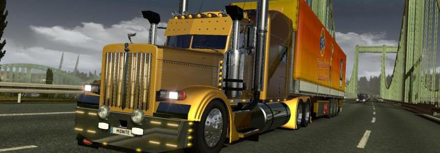 Optimus Prime Peterbilt 389 & Trailer