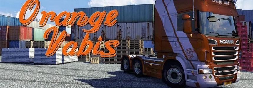 OrangeVabis Skin for Scania R & Streamline