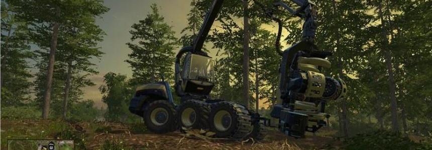 Ponsse EcoLog 6WD und 4WD v3.0