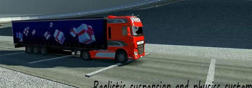 Realistic suspension and physics system v1.0